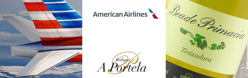 (Español) Bodegas A Portela, proveedor de American Airlines en su clase Business